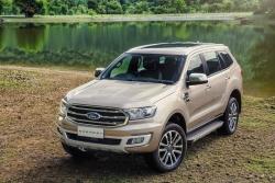 Lỗi phần mềm, hơn 3.300 xe Ford Everest phải triệu hồi