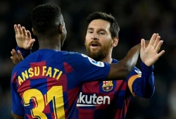 M.U dốc tiền mua Messi mới của Barca