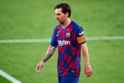 Messi bất lực trước Sevilla, Barca sa lầy tại Ramon Sanchez Pizjuan