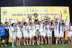 U19 nữ quốc gia: Hà Nội Watabe đăng quang xứng đáng