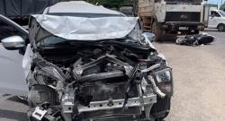 Xe tải ben gây tai nạn liên hoàn trên QL1A
