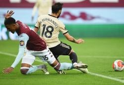 Quả 11m của M.U trước Aston Villa là một sai lầm tồi tệ