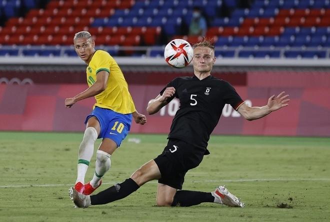 Olympic Tokyo: Richarlison tỏa sáng, Brazil nhấn chìm Đức - 1