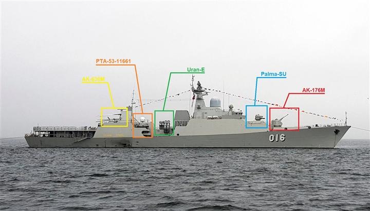 Sức mạnh bộ đôi tàu hộ vệ tên lửa Việt Nam vừa đến Nga tham gia Army Games 2021 - 3