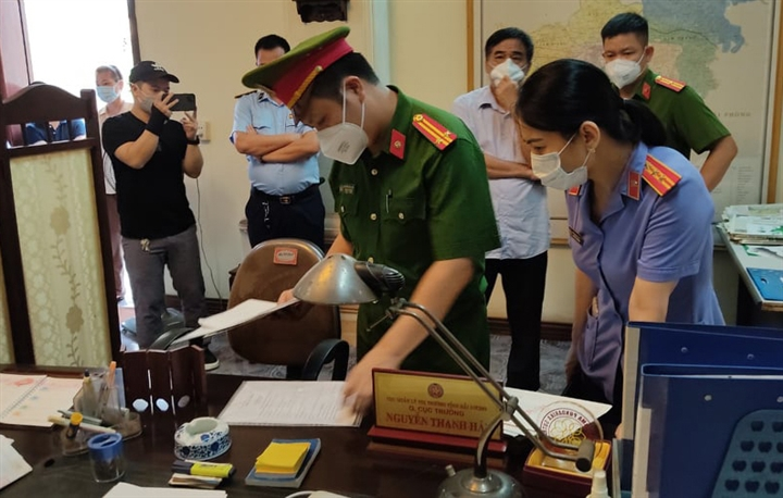 Bắt tạm giam nguyên Quyền Cục trưởng Cục Quản lý thị trường Hải Dương - 2