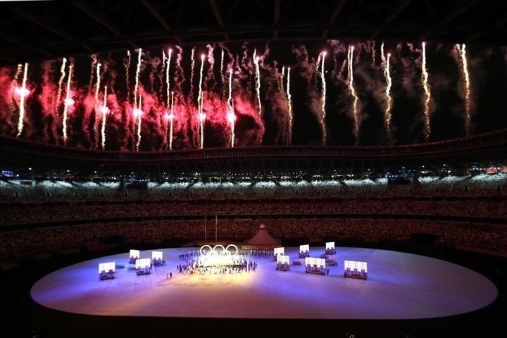 Olympic Tokyo 2020: Lễ khai mạc rực rỡ, Naomi Osaka thắp đài lửa - 3
