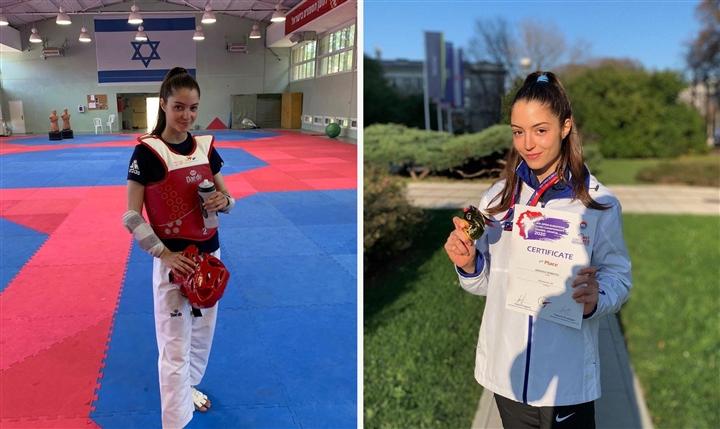 Olympic Tokyo 2020: Vẻ đẹp hút hồn của nữ võ sĩ Israel gây sốt dân mạng - 3