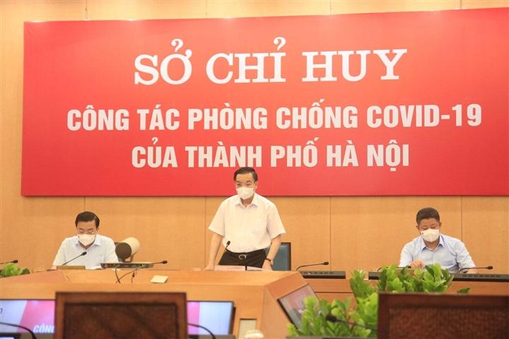 Chủ tịch Hà Nội: Người dân ra đường còn đông so với kỳ vọng thực hiện giãn cách - 1