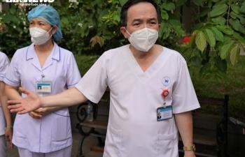 730 bệnh nhân COVID-19 ở Bệnh viện dã chiến số 8 ở TP.HCM được xuất viện