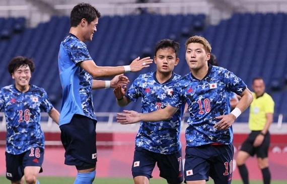 Đánh bại Mexico, Nhật Bản đặt một chân vào tứ kết Olympic Tokyo