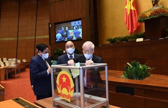 Hôm nay, Chủ tịch nước, Thủ tướng, Chánh án TAND Tối cao tuyên thệ nhậm chức