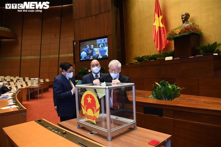 Hôm nay, Chủ tịch nước, Thủ tướng, Chánh án TAND Tối cao tuyên thệ nhậm chức - 1