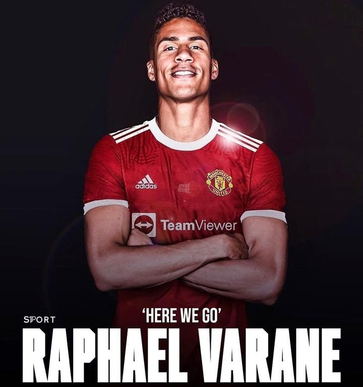 Man Utd đạt thỏa thuận chiêu mộ Varane - 1