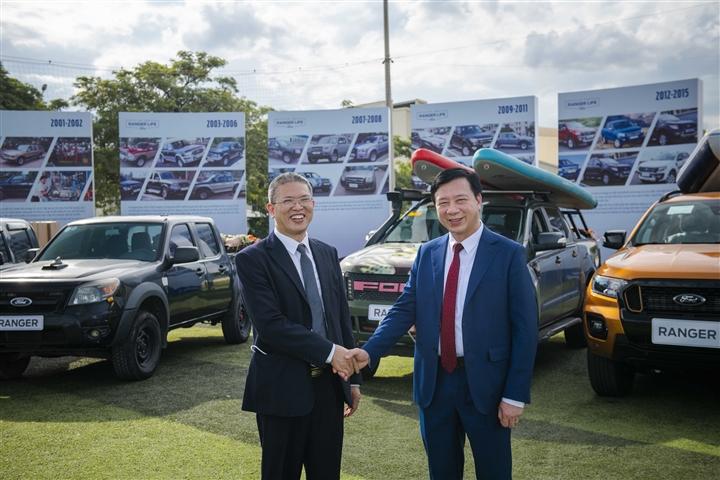 Ford Ranger Việt Nam đánh dấu cột mốc 20 năm có mặt tại Việt Nam - 2