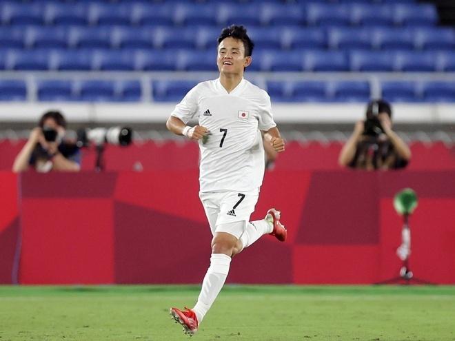 Olympic Tokyo: Kubo tỏa sáng, Nhật Bản đè bẹp Pháp 4-0  - 2