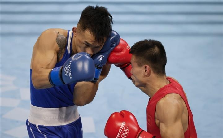Thua võ sĩ Mông Cổ, Nguyễn Văn Đương chia tay Olympic Tokyo  - 1