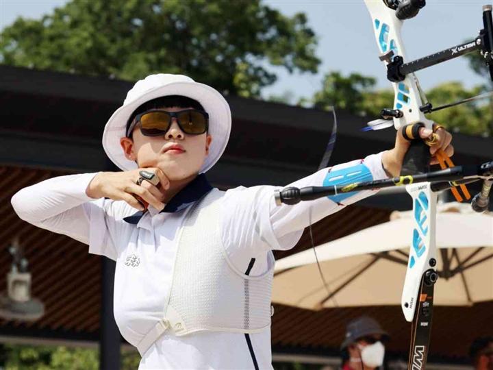 Xinh đẹp, giành 3 HCV Olympic Tokyo, cung thủ hay nhất Hàn Quốc vẫn bị mỉa mai - 1
