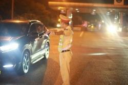 Tăng cường tuần tra đêm, xử lý mạnh các trường hợp vi phạm an toàn giao thông