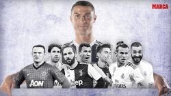 Ronaldo và những đối tác hàng đầu trong sự nghiệp