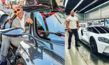 Bộ sưu tập xế hộp giá hàng triệu USD của sao Hollywood Dwayne The Rock