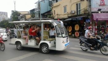 Hà Nội sẽ có thêm 8 khu du lịch được sử dụng xe điện 4 bánh chở khách tham quan