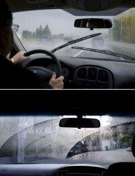 Mẹo xử lý kính ôtô bị mờ khi trời mưa