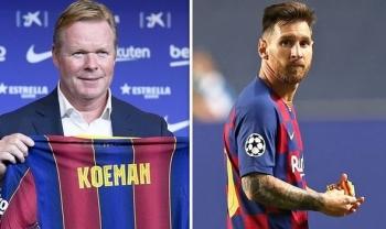 """Ronald Koeman sẽ """"nói chuyện phải trái"""" với Messi và các trụ cột Barca"""