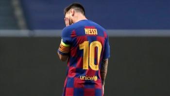 Barca khủng hoảng, Man City sáng cửa cướp Messi