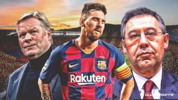 Messi quyết ly dị Barca, Koeman cũng chính là thủ phạm