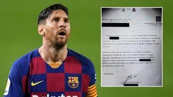 Messi đòi Barca trả tự do, Man City và PSG chờ xem kiện cáo để ra tay
