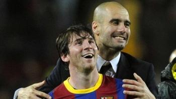 Man United đại chiến Man City để giành Messi