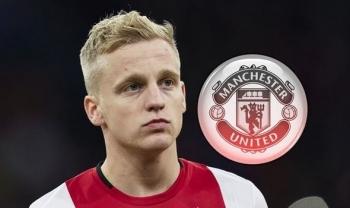 Lý do Man United lựa chọn Donny van de Beek