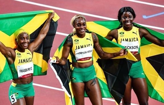 Olympic Tokyo 2020: Jamaica không có đối thủ, tái hiện kỳ tích trăm năm có một