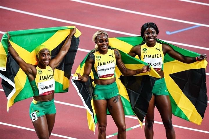 Olympic Tokyo 2020: Jamaica không có đối thủ, tái hiện kỳ tích trăm năm có một - 1