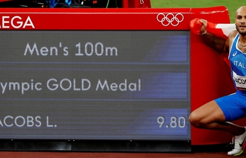 Vô địch Olympic Tokyo, VĐV Italy vẫn kém xa kỷ lục của huyền thoại Usain Bolt