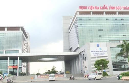 Cách ly y tế Bệnh viện Đa khoa tỉnh Sóc Trăng