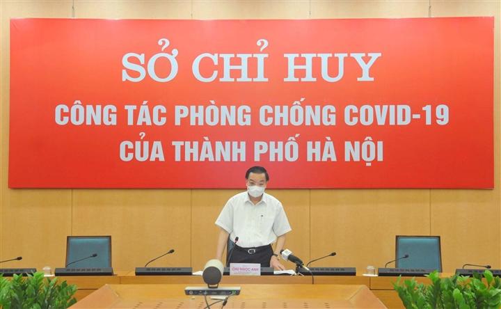 Chủ tịch Hà Nội: Giãn cách xã hội nghiêm mới bóc tách hết F0 trong cộng đồng - 1