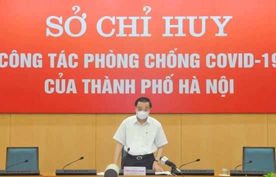 Chủ tịch Hà Nội: Giãn cách xã hội nghiêm mới bóc tách hết F0 trong cộng đồng