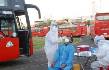 Phú Yên: 25 xe giường nằm chở 600 người ở vùng dịch phía Nam về quê