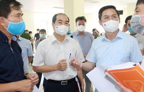 Bộ Xây dựng khảo sát xây dựng bệnh viện dã chiến tại Hà Nội
