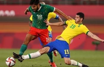 Brazil 3 lần liên tiếp vào chung kết bóng đá nam Olympic