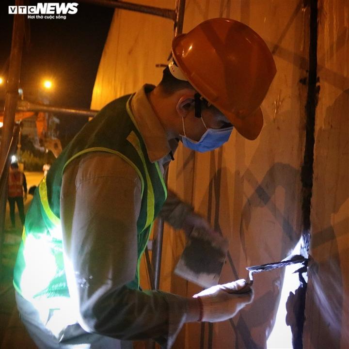 Hà Nội: Xuyên đêm sửa hầm Kim Liên sau 12 năm đưa vào vận hành - 9