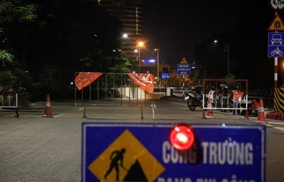 Hà Nội: Xuyên đêm sửa hầm Kim Liên sau 12 năm đưa vào vận hành