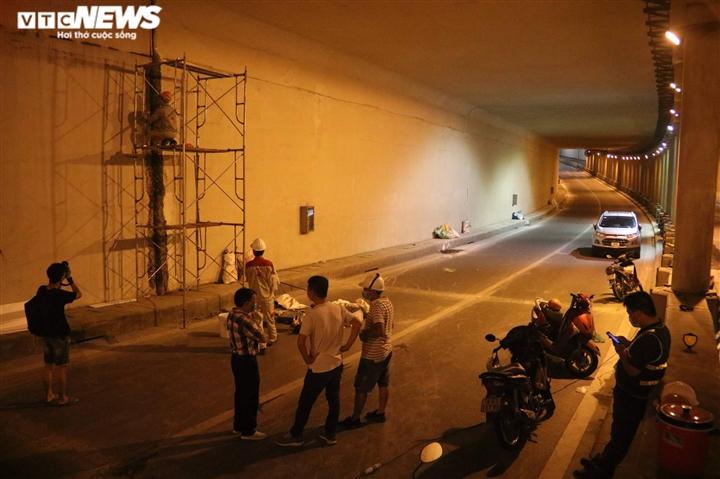 Hà Nội: Xuyên đêm sửa hầm Kim Liên sau 12 năm đưa vào vận hành - 5