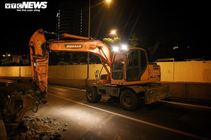 Hà Nội: Xuyên đêm sửa hầm Kim Liên sau 12 năm đưa vào vận hành - 3