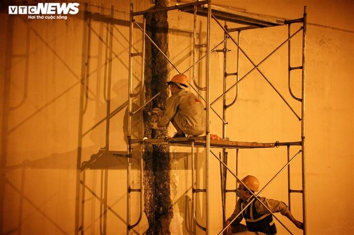 Hà Nội: Xuyên đêm sửa hầm Kim Liên sau 12 năm đưa vào vận hành - 2