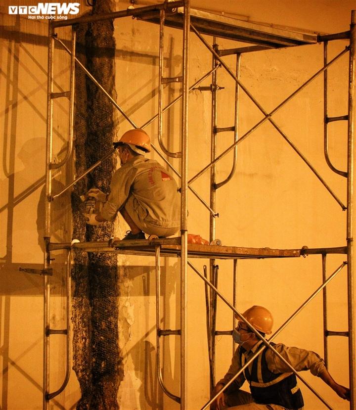 Hà Nội: Xuyên đêm sửa hầm Kim Liên sau 12 năm đưa vào vận hành - 12