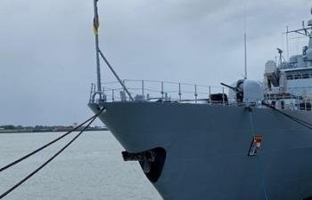 Tàu chiến Đức sẽ thăm Việt Nam khi đến Biển Đông