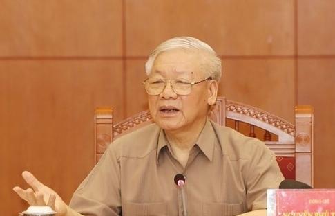 Tổng Bí thư Nguyễn Phú Trọng chủ trì họp Ban Chỉ đạo phòng, chống tham nhũng