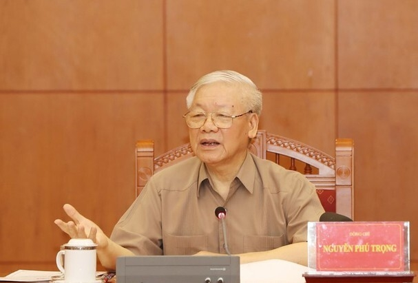 Tổng Bí thư Nguyễn Phú Trọng chủ trì họp Ban Chỉ đạo phòng, chống tham nhũng - 1